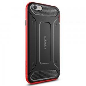 Чехол-накладка для Apple iPhone 6/6S - Spigen Neo Hybrid Carbon красный + черный