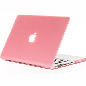 "Чехол-накладка для Apple MacBook Pro 15"" - Kuzy Rubberized Hard Case розовый"