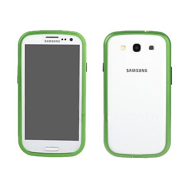 Чехол-бампер для Samsung Galaxy S3 - Shun Tian Tai зеленый