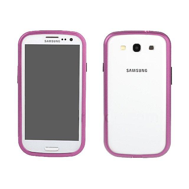 Чехол-бампер для Samsung Galaxy S3 - Shun Tian Tai розовый