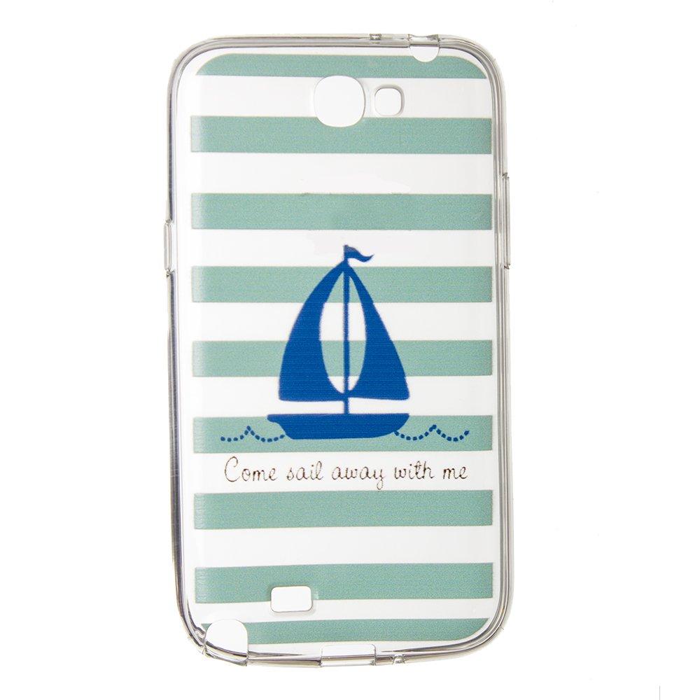 Чехол-накладка дляSamsung Note 2 - Boat