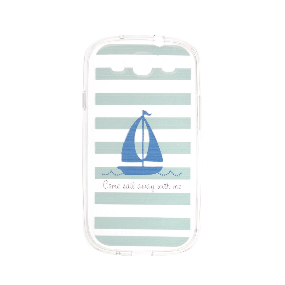 Чехол-накладка дляSamsung Galaxy S3 с рисунком Boat
