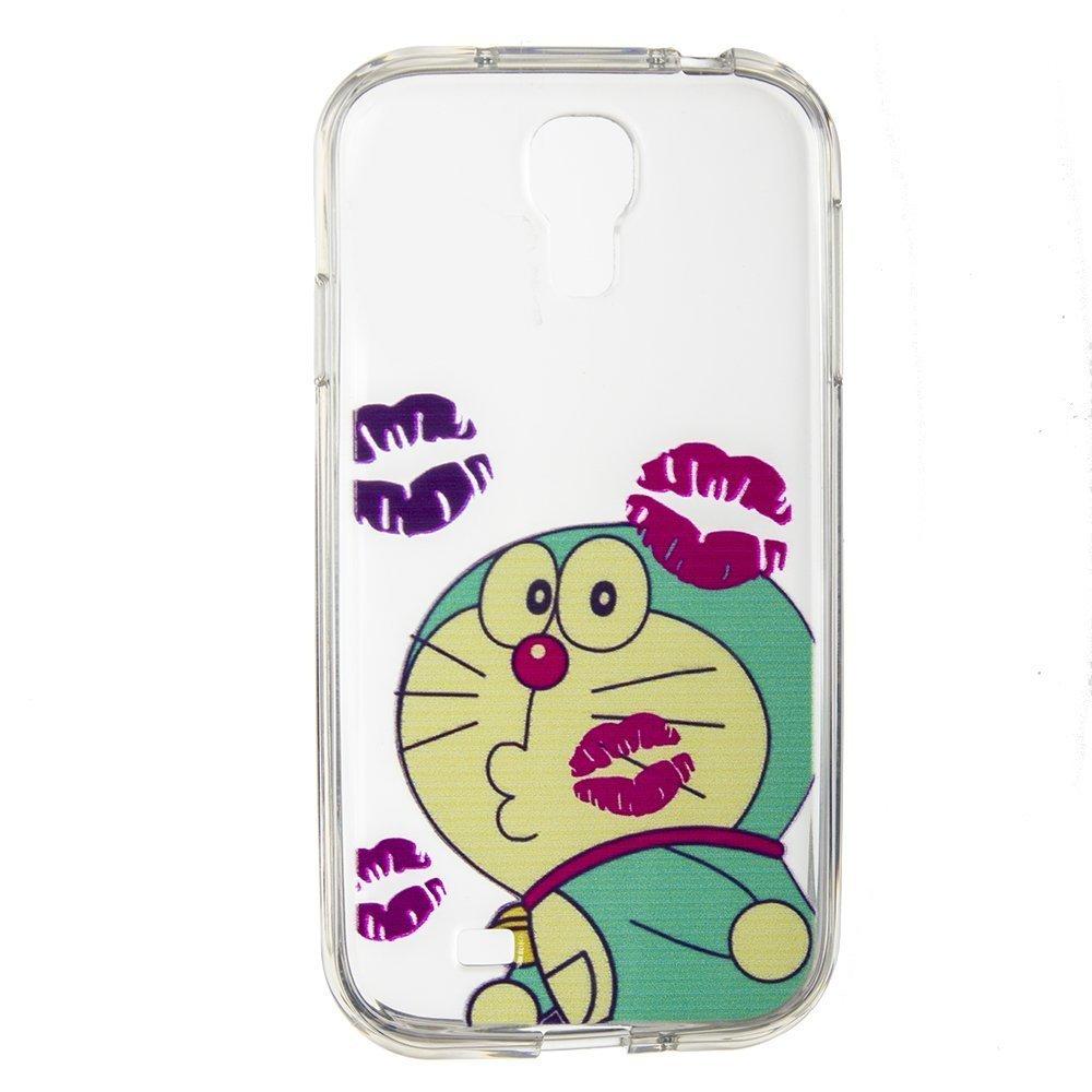 Чехол-накладка для SamsungGalaxyS4 - Silicon Case Cat
