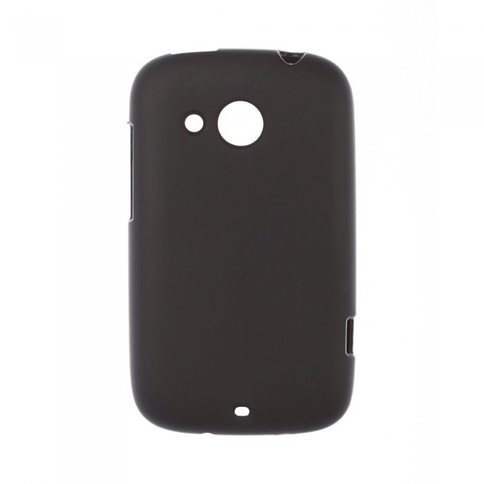 Чехол накладка для HTCDesireCA320e - Silicon Case черный