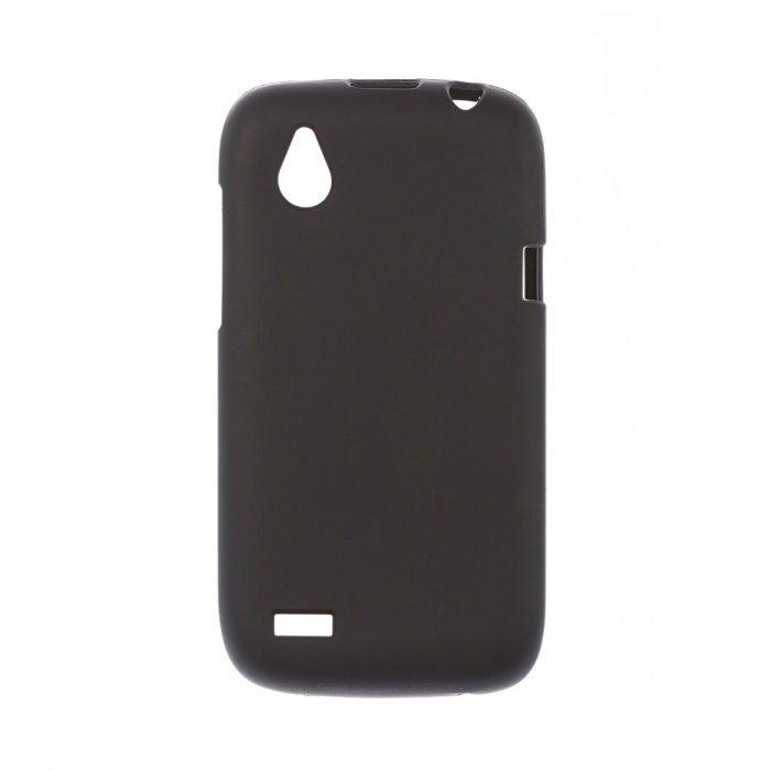 Чехол-накладка для HTCDesireXT328e - Silicon Case черный
