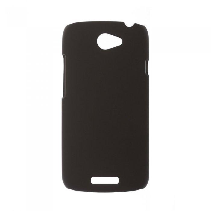 Чехол-накладка для HTCOneSZ520 - Silicon Case черный