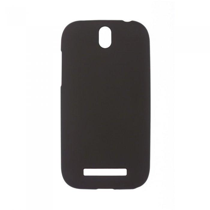 Чехол-накладка для HTCOneSV - Silicon Case черный