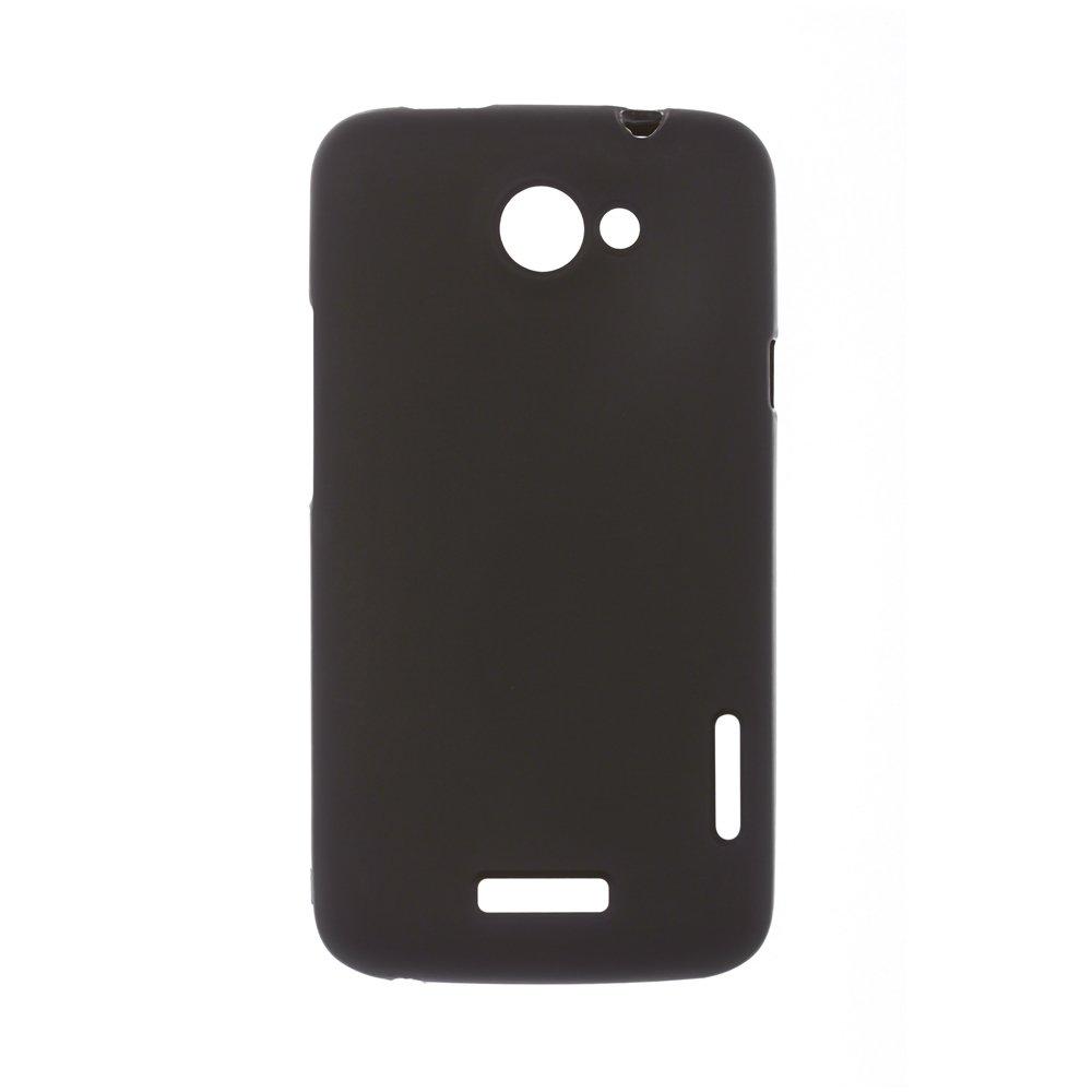 Чехол-накладка для HTCOneXs720e - Silicon Case черный