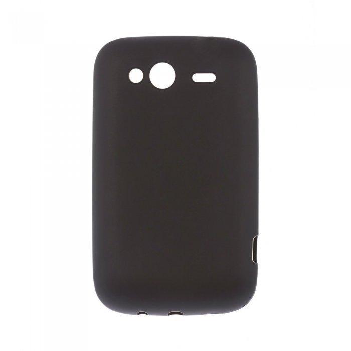 Чехол-накладка для HTCWildfireSA510 - Silicon Case черный