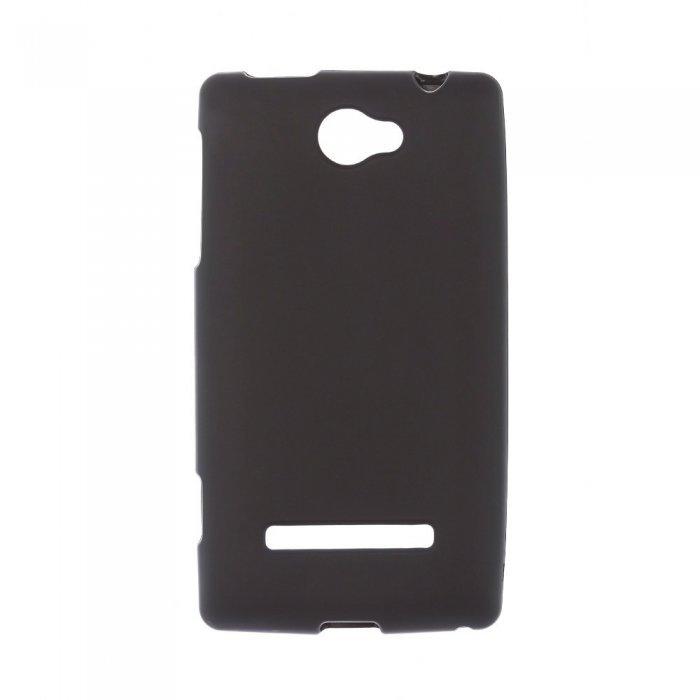 Чехол-накладка для HTCWP8SA620e - Silicon Case черный