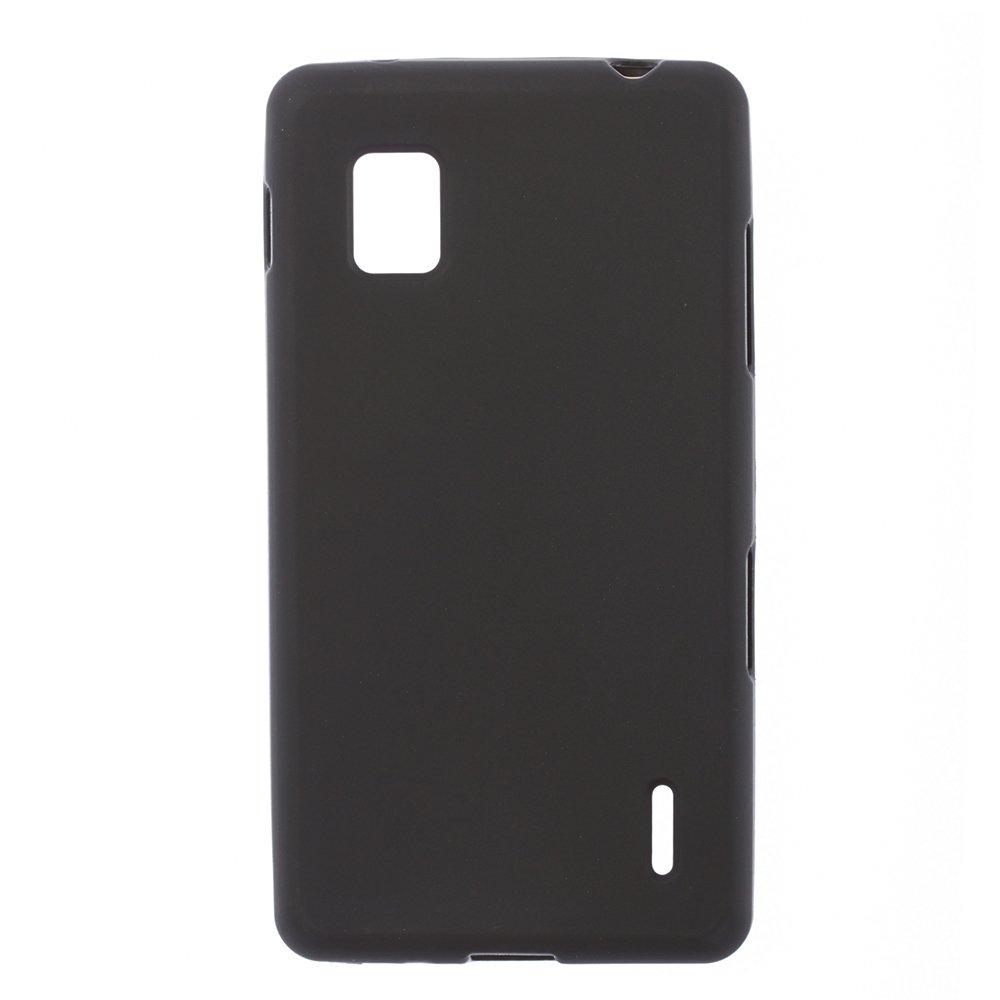 Чехол-накладка для LGOptimusG E975 - Silicon Case черный