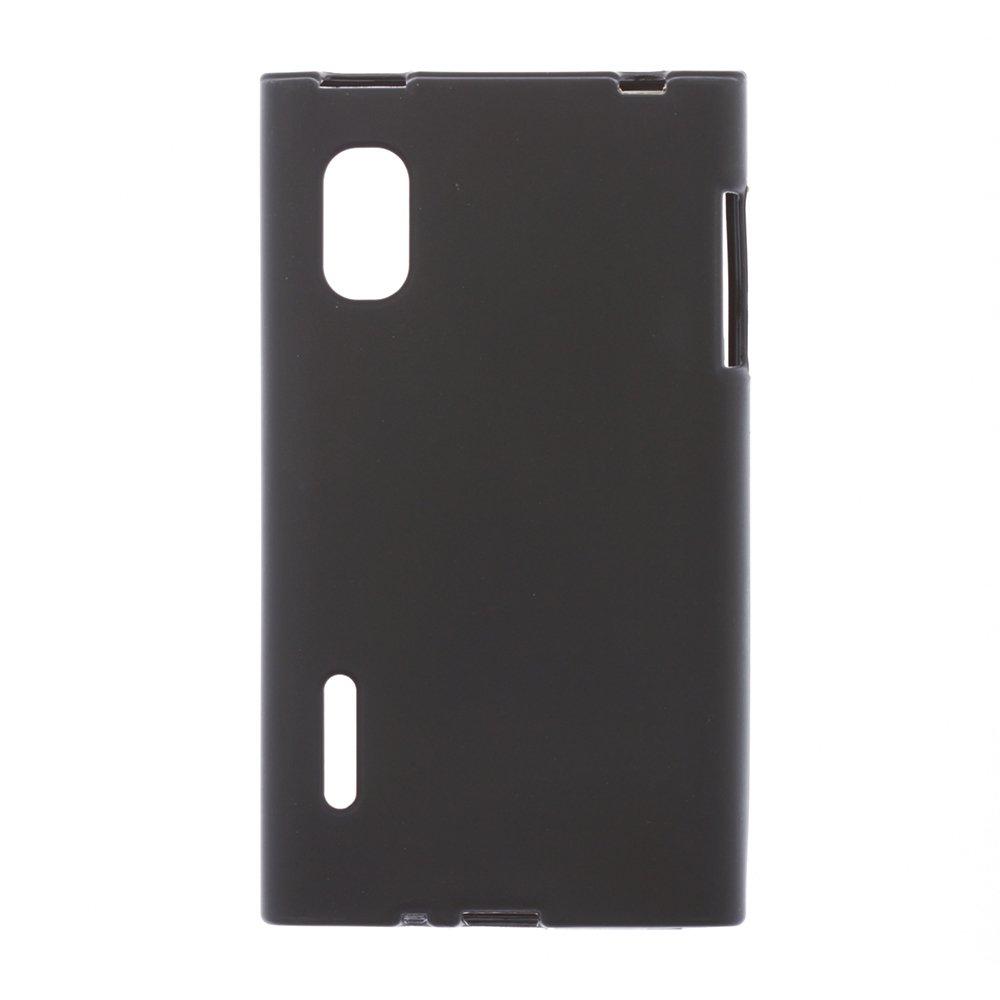 Чехол-накладка для LGOptimusL5 - Silicon Case черный