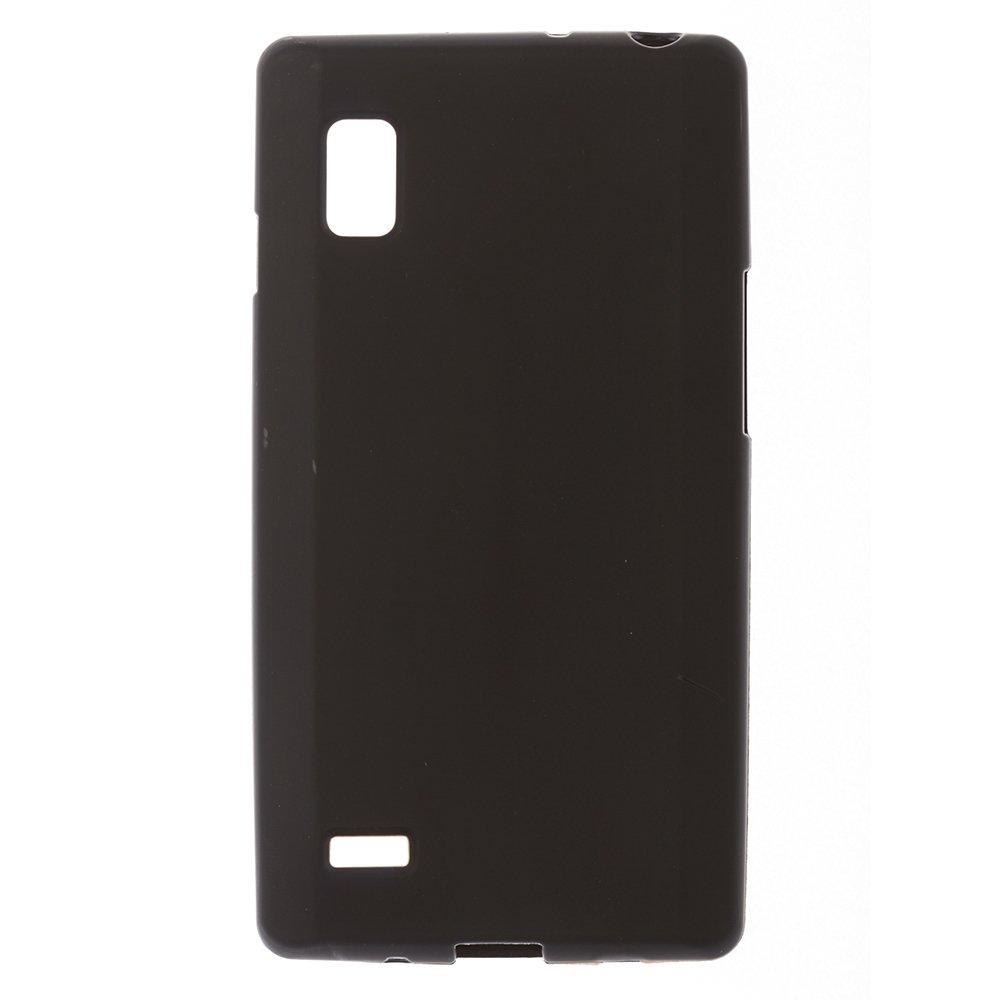 Чехол-накладка для LGOptimusL9 - Silicon Case черный