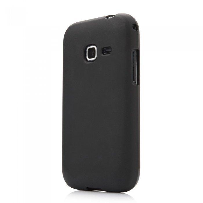 Чехол-накладка дляSamsungGalaxyAceDuos S6352/S6802 - Silicon Case черный