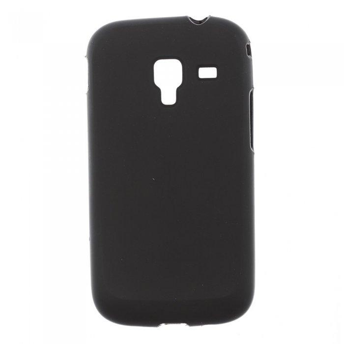 Чехол-накладка дляSamsungGalaxyAceIIi8160 - Silicon Case черный