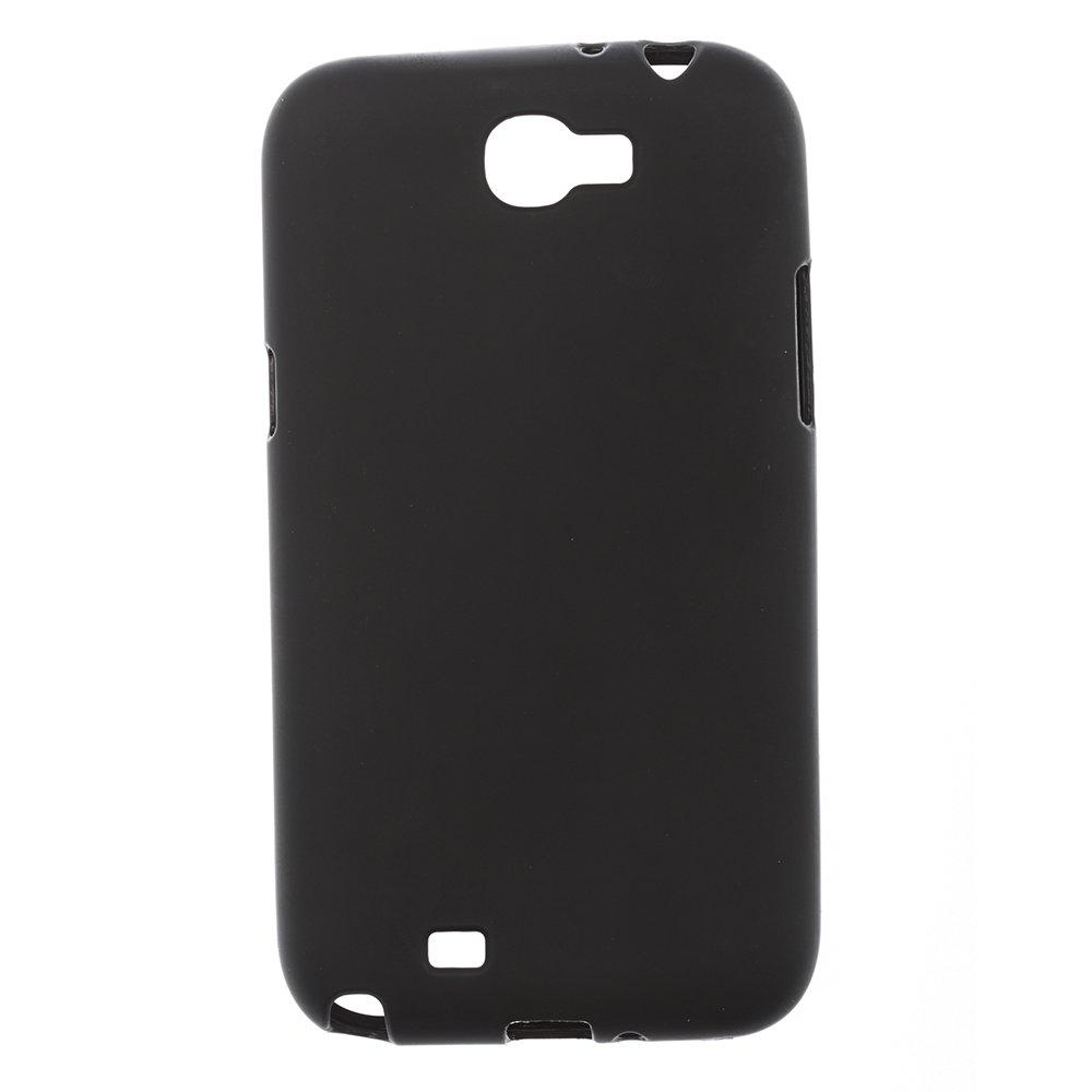 Чехол-накладка дляSamsungGalaxyNote2N7100 - Silicon Case черный
