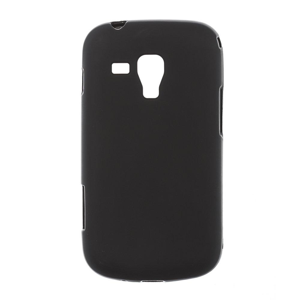 Чехол-накладка дляSamsungGalaxySDuos S7562 - Silicon Case черный