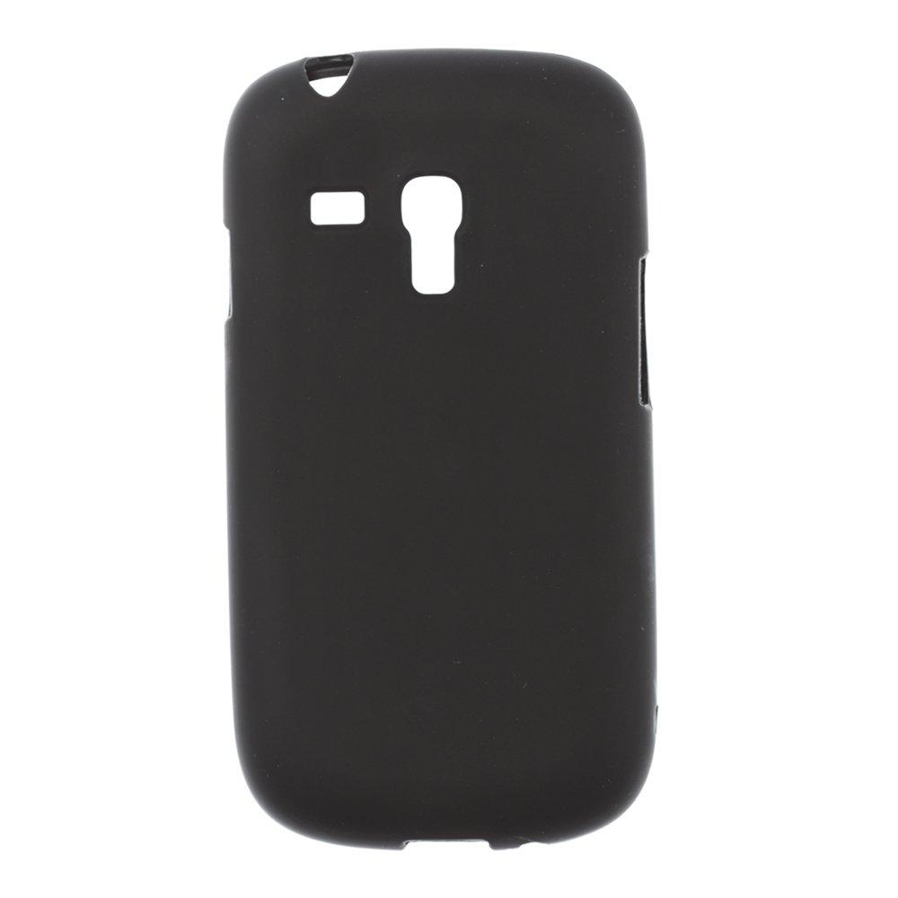 Чехол-накладка дляSamsungGalaxySIIIminii8190 - Silicon Case черный