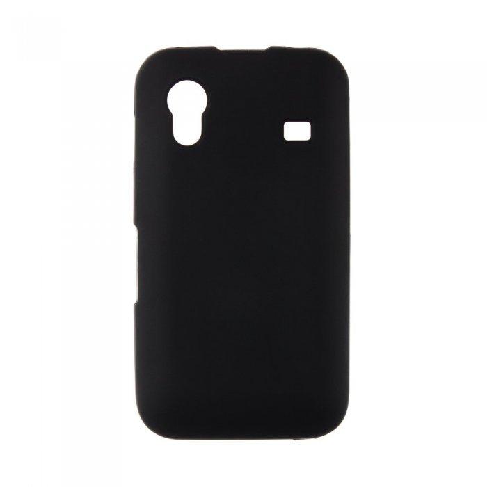 Чехол-накладка дляSamsungGalaxy AceS5830- Silicon Case черный