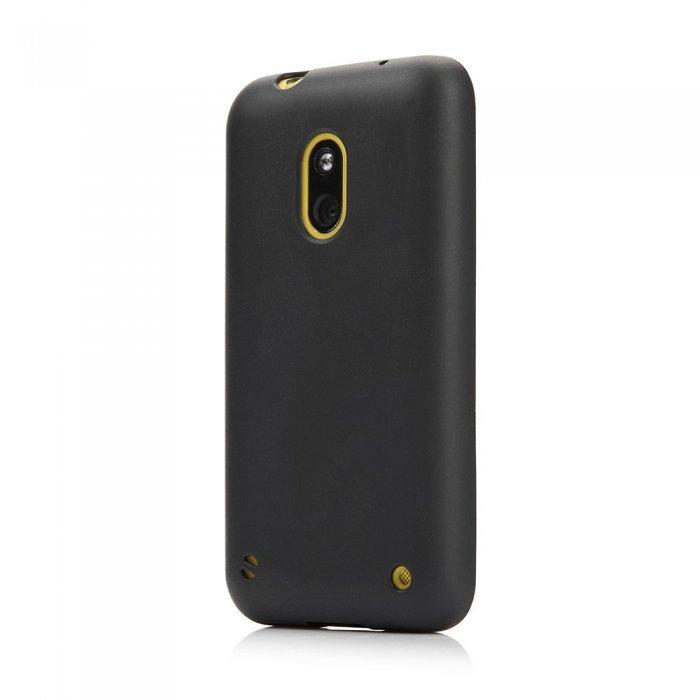 Чехол-накладка дляNokiaLumia620 - Silicon Case черный