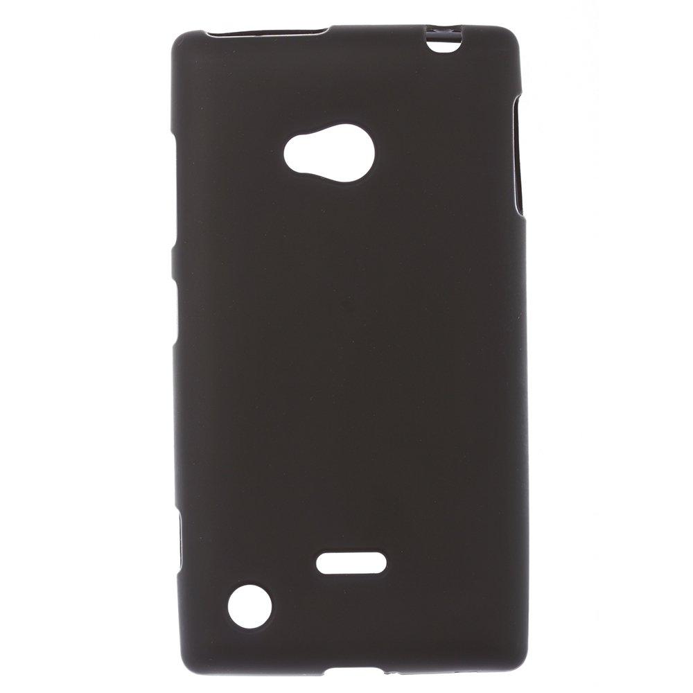 Чехол-накладка дляNokiaLumia720 - Silicon Case черный