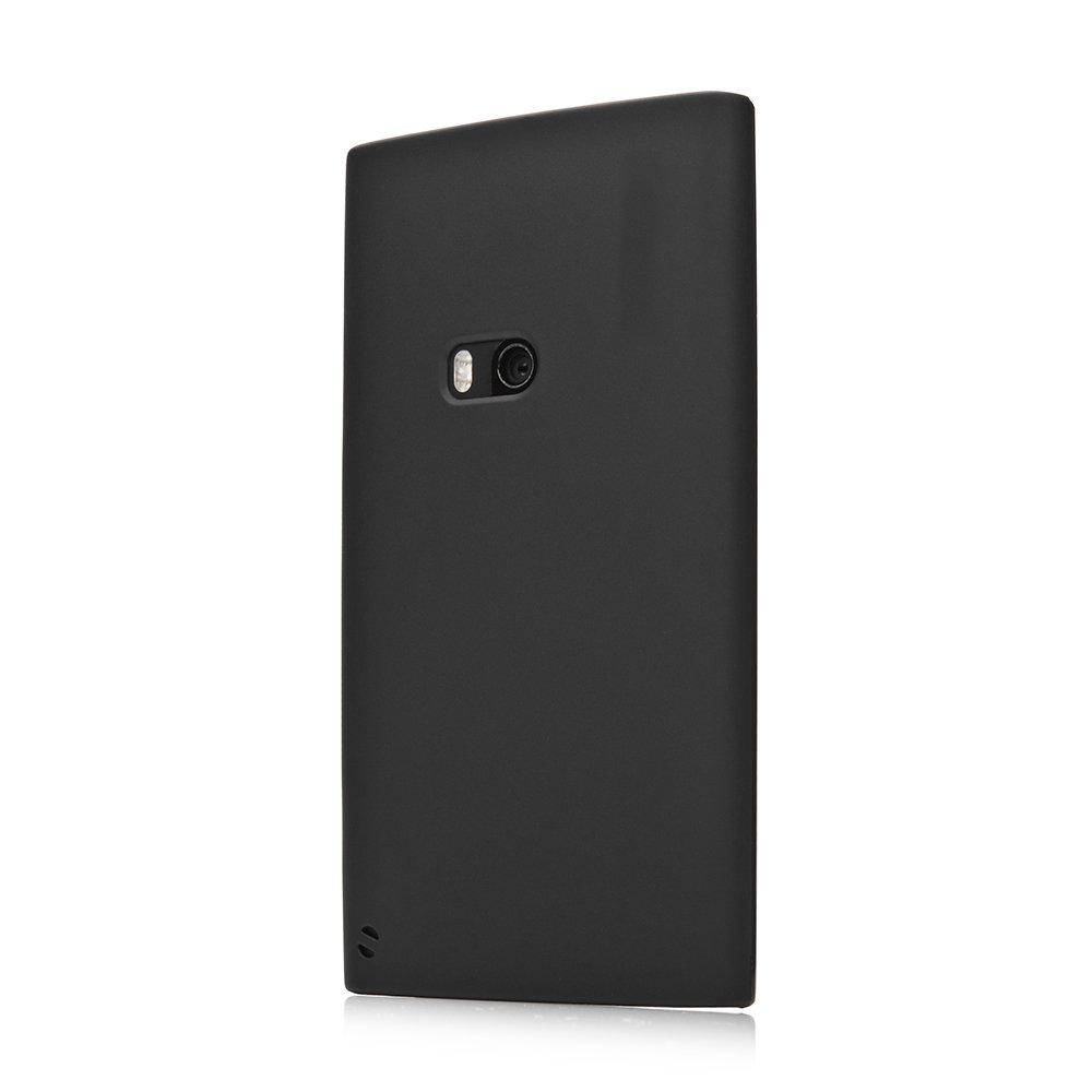 Чехол-накладка дляNokiaLumia920 - Silicon Case черный