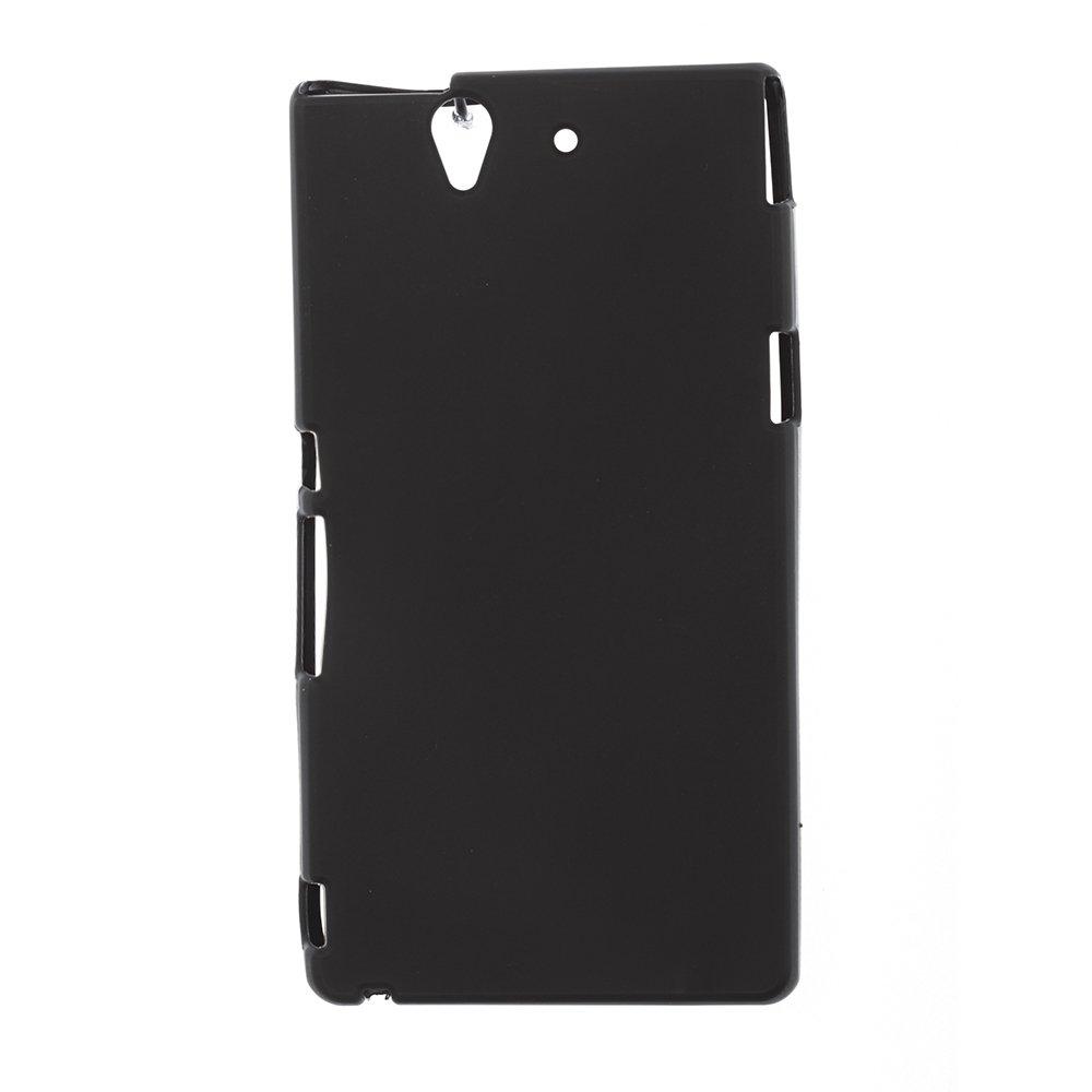 Чехол-накладка для Sony XperiaZ L36H - Silicon Case черный