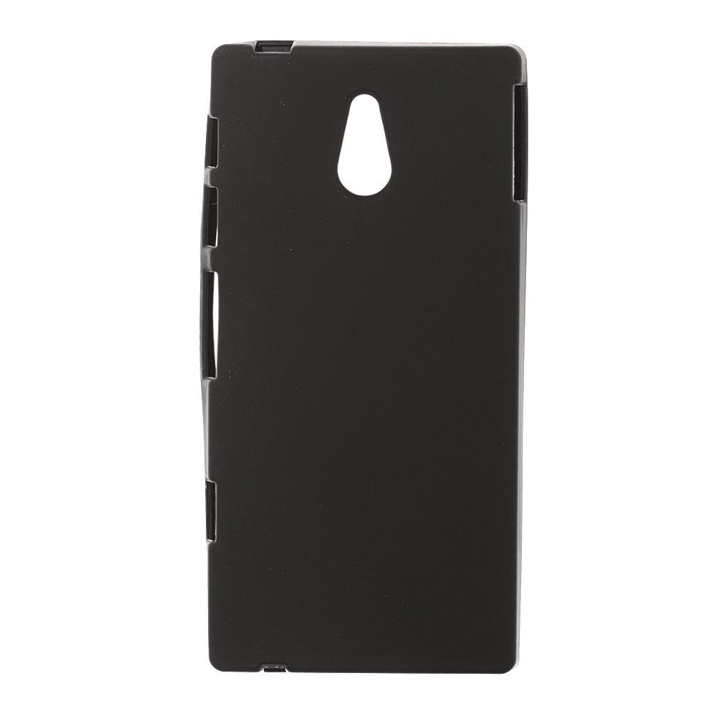 Чехол-накладка для Sony XperiaP LT22i- Silicon Case черный