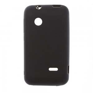 Чехол-накладка для Sony XperiatipoST21i - Silicon Case черный