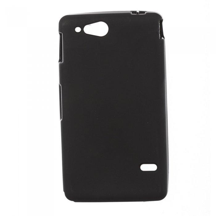 Чехол-накладка для SonyXperiaGo ST27i - Silicon Case черный