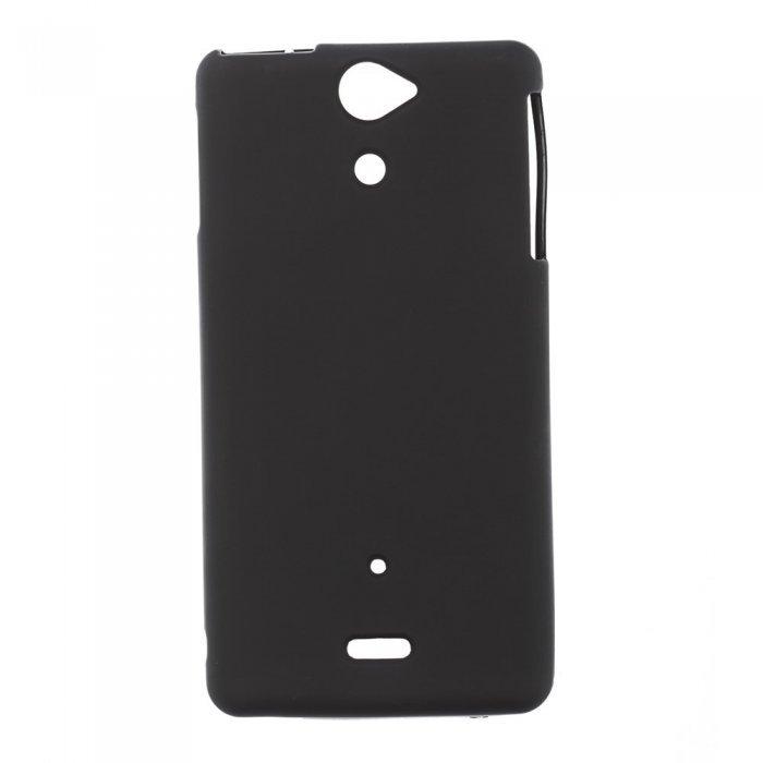 Чехол-накладка для SonyXperiaVLT25i - Silicon Case черный