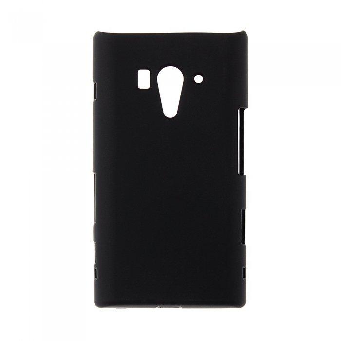 Чехол-накладка для SonyXperiaAcroSLT26w - Silicon Case черный
