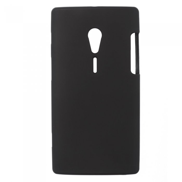 Чехол-накладка для SonyXperiaIonHSPALT28i - Silicon Case черный