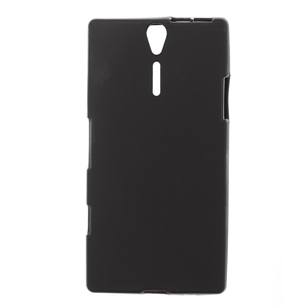 Чехол-накладка для SonyXperiaJST26i - Silicon Case черный
