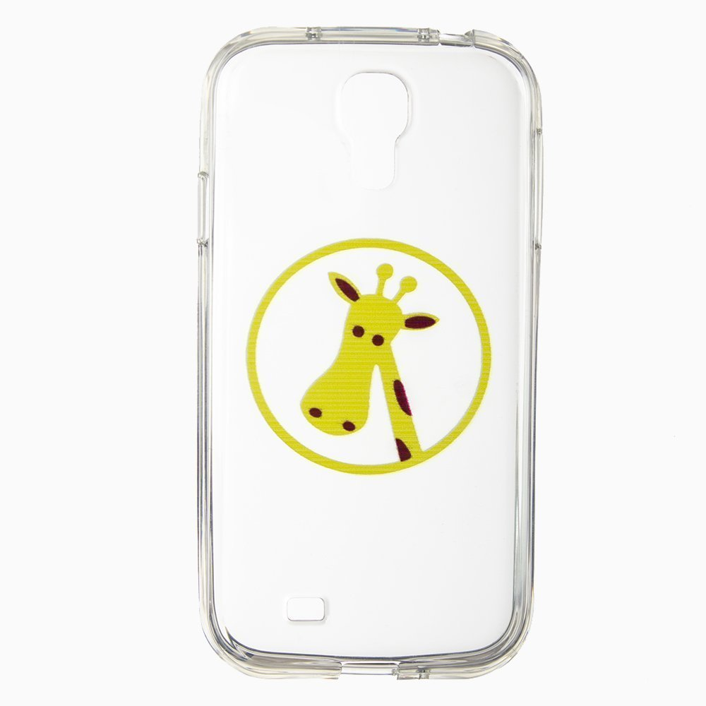 Чехол-накладка для SamsungGalaxyS4 - Silicon Case Giraffe