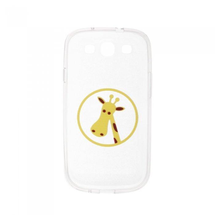 Чехол-накладка дляSamsung Galaxy S3 с рисунком Giraffe