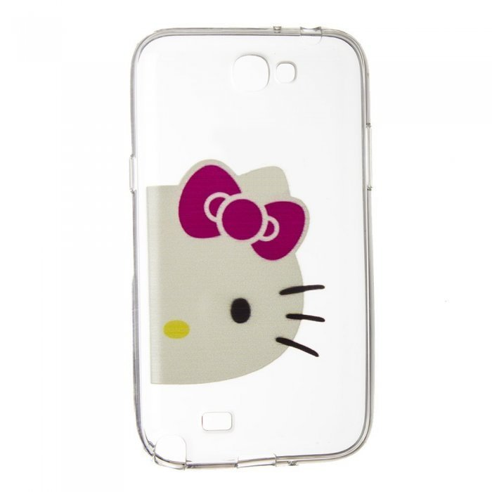 Чехол-накладка дляSamsung Note 2 - Hello Kitty