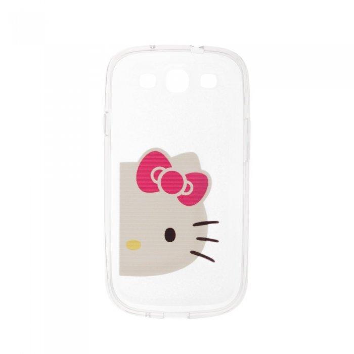 Чехол-накладка дляSamsung Galaxy S3 с рисунком Hello Kitty