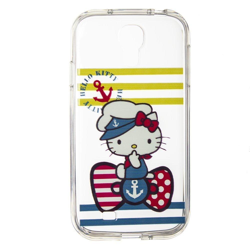 Чехол-накладка для SamsungGalaxyS4 - Silicon Case Hello Kitty Sailor