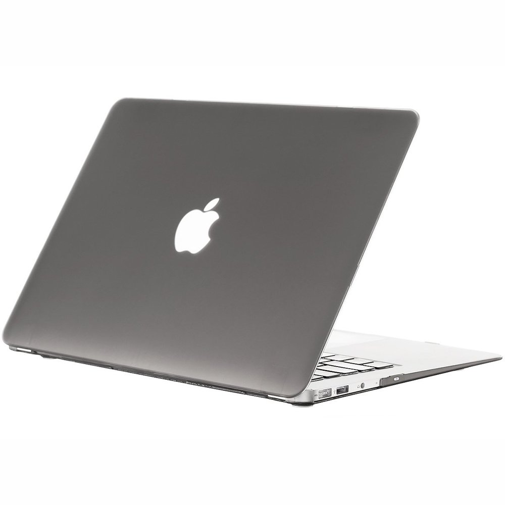 "Чехол-накладка для Apple MacBook Air 11"" - Kuzy Rubberized Hard Case серый"