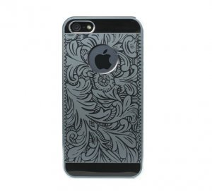 Чехол-накладка для Apple iPhone 5/5S - iBacks Cameo Venezia черный