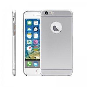 Чехол-накладка для Apple iPhone 6 - iBacks Cameo серебристый