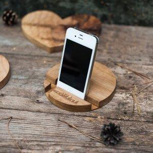 Подставка для iPhone - EcoWalNut Круг