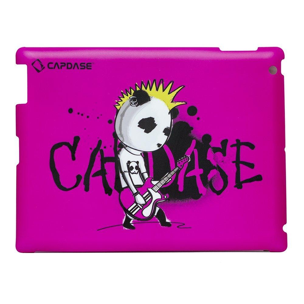 Наклейка для Apple iPad 2/3/4 - Capdase ProSkin Don Rock розовая