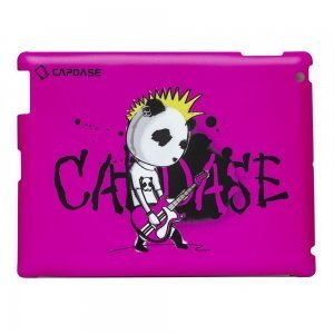 Наклейка для Apple iPad 2/3/4 - Capdase ProSkin Don Rock розовая