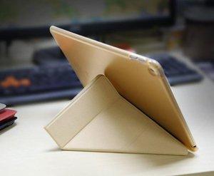 Чехол-книжка для Apple iPad Air 2 - Baseus Pasen золотистый