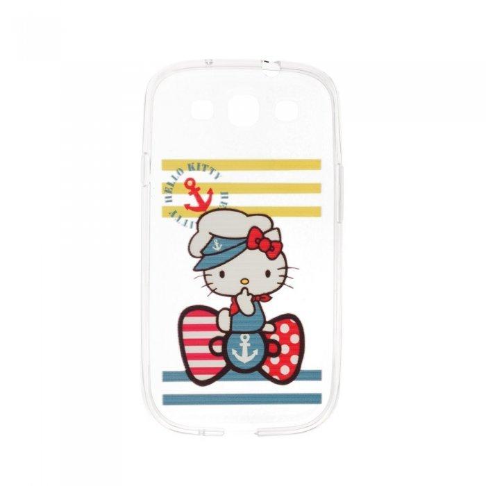 Чехол-накладка дляSamsung Galaxy S3 с рисунком Hello Kitty Sailor