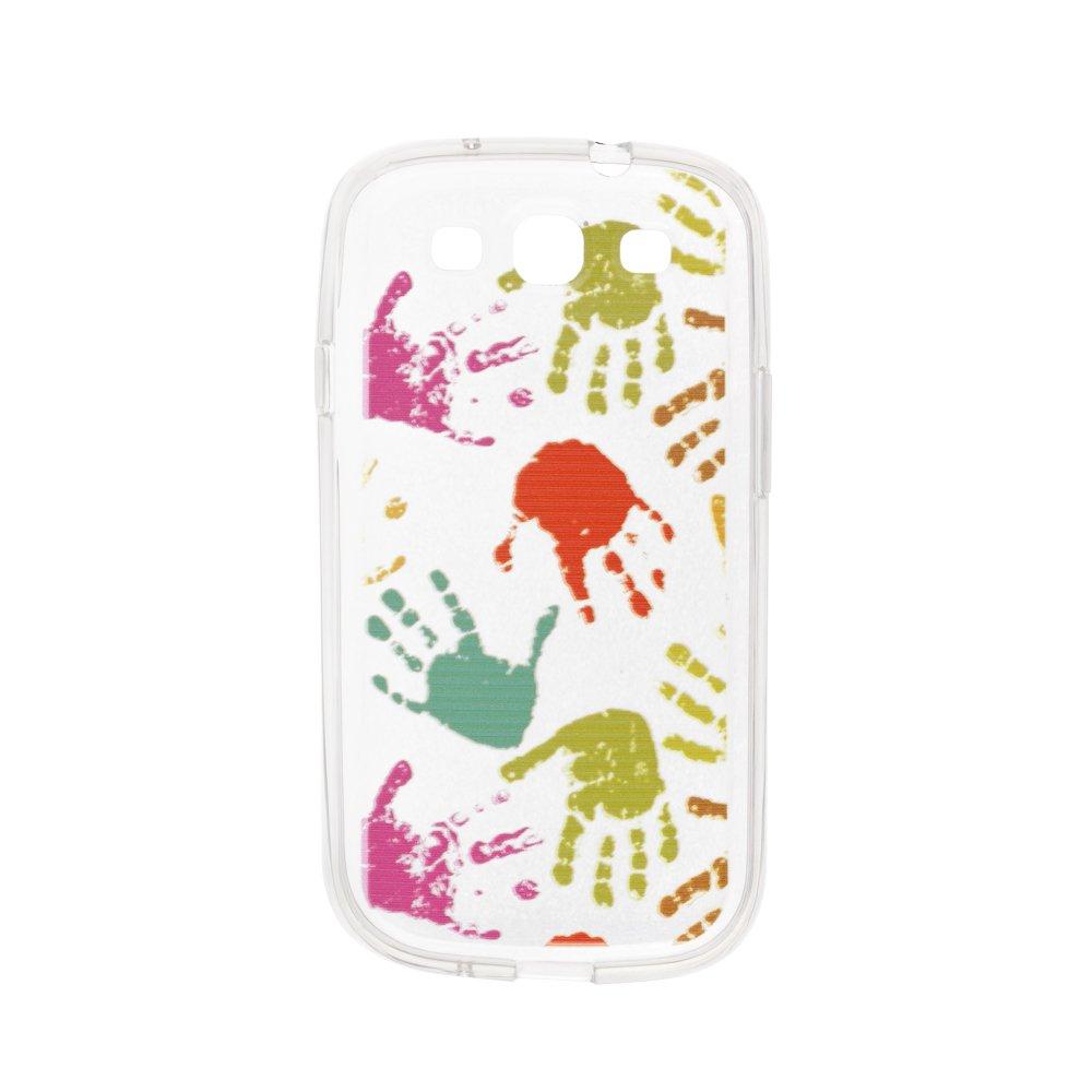 Чехол-накладка дляSamsung Galaxy S3 - Multicolor Hands