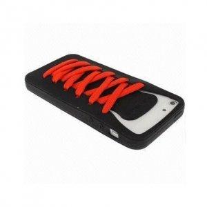 3D чехол iShoes черный для iPhone 5/5S/SE