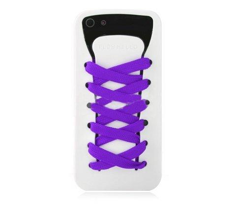 3D чехол iShoes белый для iPhone 5/5S/SE